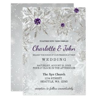 snowflake wedding invitations & announcements | zazzle, Wedding invitations