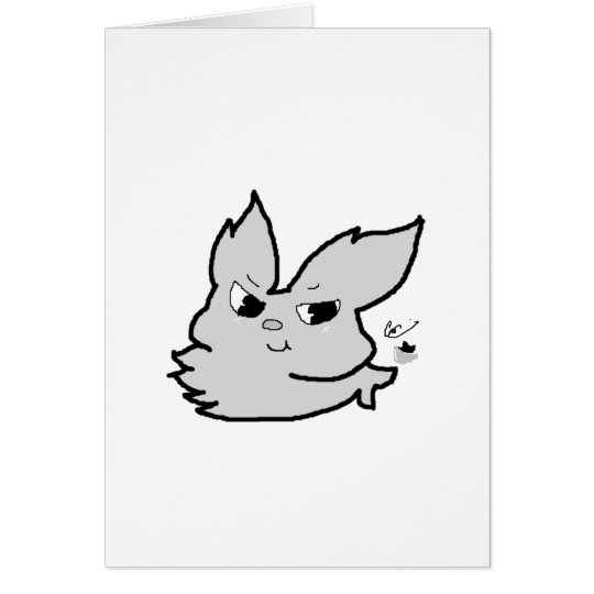 Silver Rabbit Card