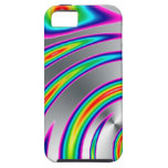 silver rainbow iPhone 5 case
