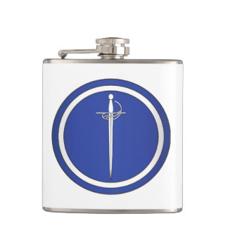 Silver Rapier Flask