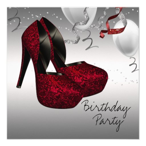 silver high heel shoes birthday 5 25x5 25 square