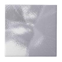 Silver Ripple Tile