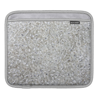 Silver Rocaille Seed Beads Sleeves For iPads