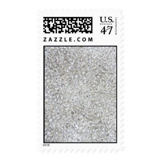 Silver Rocaille Seed Beads Stamp