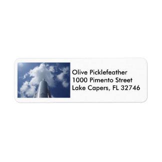 Silver Rocket Label