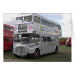 Silver Routemaster RM 577 Greeting Card
