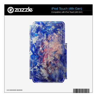 Silver Run Decal For iPod Touch 4G
