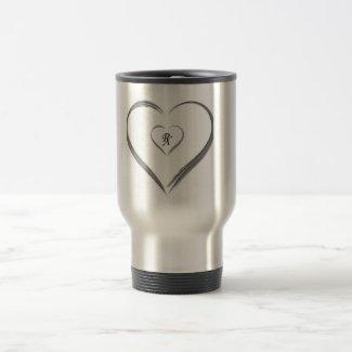 Silver RX Travel Travel Mug