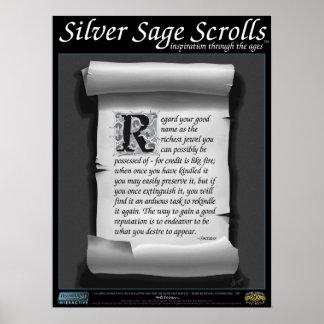 Silver Sage Scrolls™ 005: Socrates ; Reputation Print