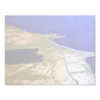 "Silver Salmon Lake Outlet 4.25"" X 5.5"" Invitation Card"