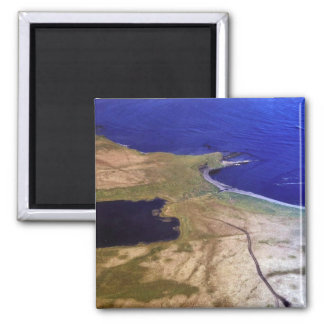 Silver Salmon Lake Outlet Fridge Magnets