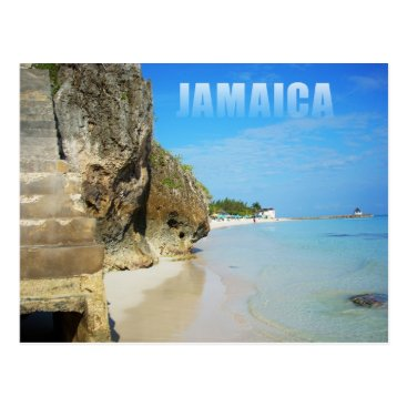 Beach Themed Silver Sands Beach, Trelawny, Jamaica Postcard
