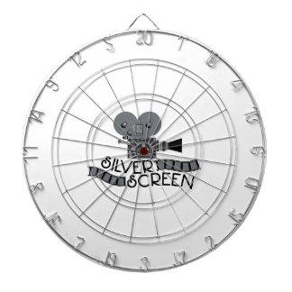 Silver Screen Dartboard