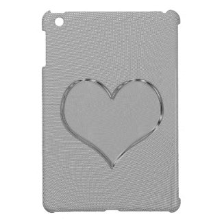 SILVER SCREEN HEART iPad MINI CASE
