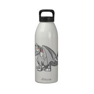 Silver SD Furry Dragon Drinking Bottles