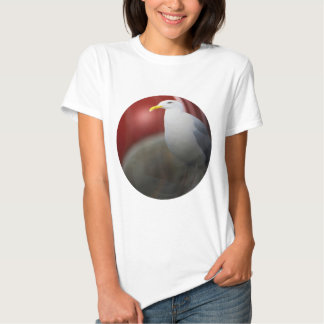 Silver sea gull t-shirt