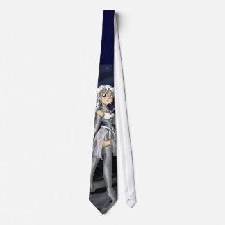 Silver Senshi Neck Tie