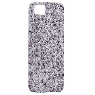 Silver Sequin Effect Phone Cases iPhone 5 Case