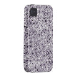 Silver Sequin Effect Phone Cases Case For The iPhone 4