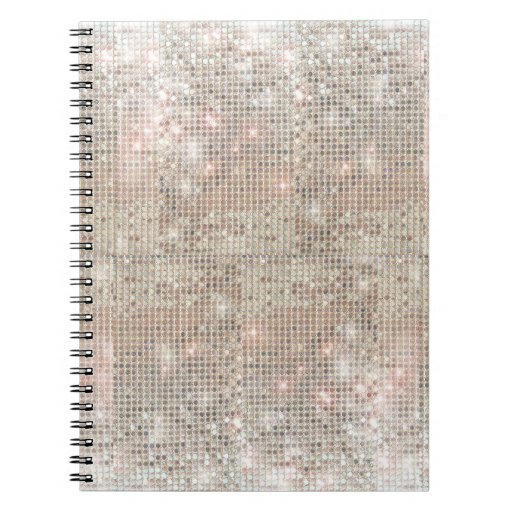 Silver Sequins Notebook