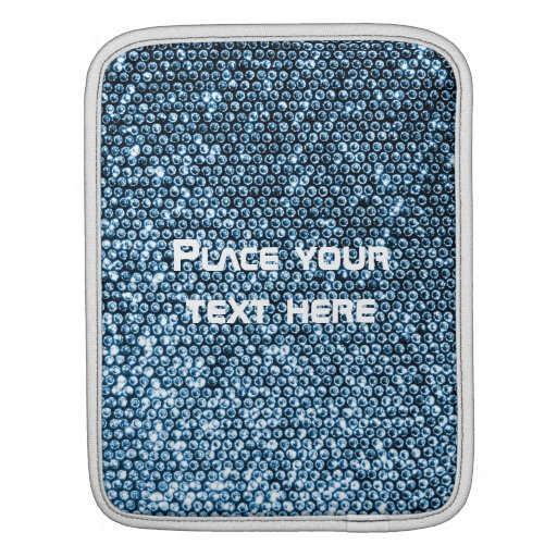 Silver Sequins Sleeves For iPads