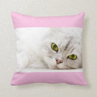 Silver shaded Persian Throw Pillows