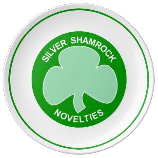 Silver Shamrock Novelties Halloween Plate