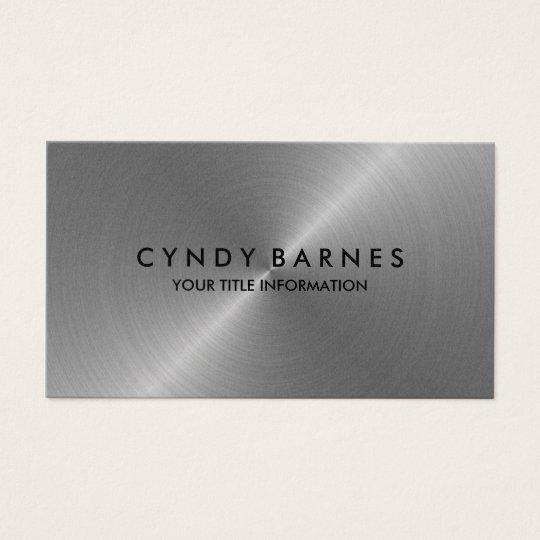 Silver Sheen Business Card