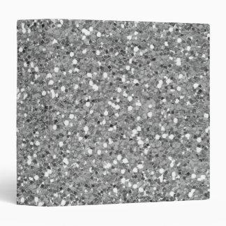 Silver Shimmer Glitter Binder
