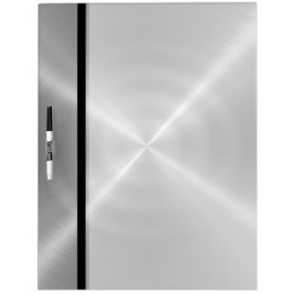Silver Shiny Stainless Steel Metal Dry Erase Board