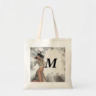 Silver showgirl bags