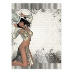 Silver showgirl post cards