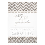 Silver Sixty and Spectacular Birthday Invite