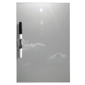 Silver Sky Dry-Erase Board