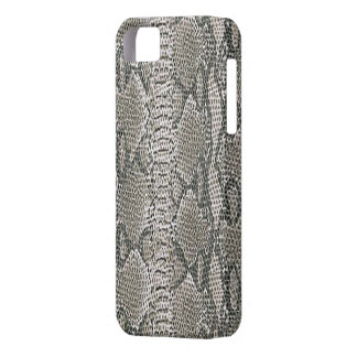 Silver Snake Skin iPhone 5G Case