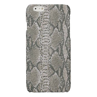 Silver Snake Skin iPhone 6 Case Glossy iPhone 6 Case