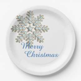 Surprising Silver Snowflake Paper Plates Pictures - Best Image ...