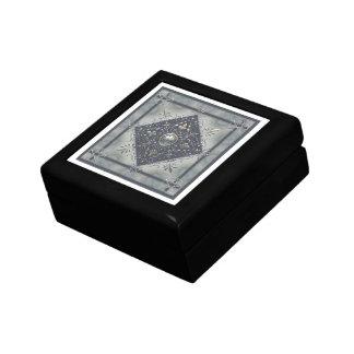 Silver Snowflake Pentacles Keepsake Box