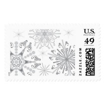 Silver Snowflake Stamp