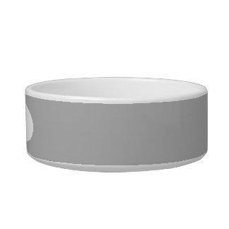 Silver Solid Color Bowl