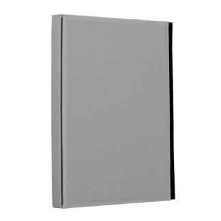 Silver Solid Color iPad Folio Covers