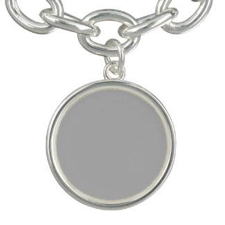 Silver Solid Color Bracelets