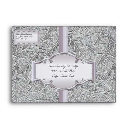 Silver Solstice Envelopes