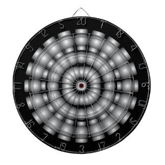 Silver Spheres Dartboard