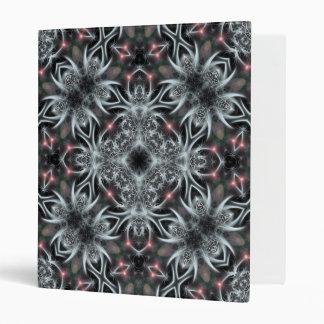 Silver Spider :Geometric Fractal Art Album Binder