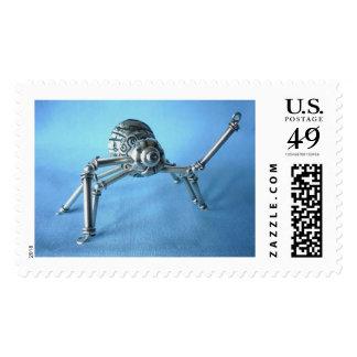 Silver spider stamp