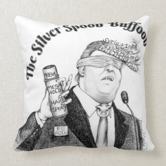 silver-spoon-buffon-Throw-Pillow Throw Pillow