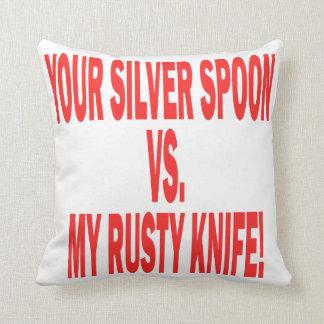 Silver Spoon Pillows