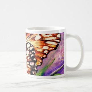 Silver spot buttrefly coffee mug