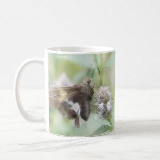 Silver-Spotted Skipper On Agastache Coffee Mug